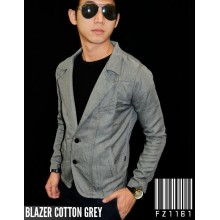 Blazer Cotton Grey