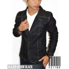 Blazer Denim Black