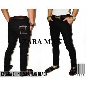 Celana Panjang ZARA MAN Chino Black