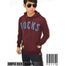 Hoodie Jumper Rocks