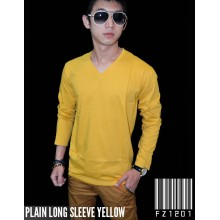 Plain Tee Long Yellow