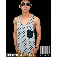 Tank Top Polka Dot