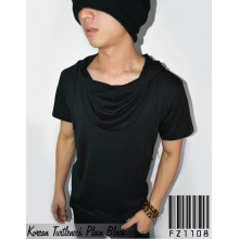 Korean Turtleneck Plain Black