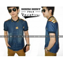 Denim Shirt Polo Variation *Limited Edition