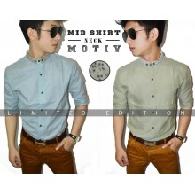 Mid Shirt Neck Motiv *Limited Edition *Import Korea
