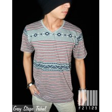 Grey Stripe Tribal