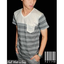 Half White n Grey
