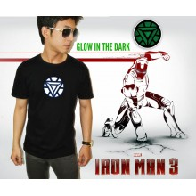 IRON MAN Triangle Arc Reactor - GLOW IN THE DARK - SUPE