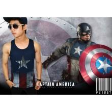 Tank Top Captain America - SUPERHERO T-SHIRT