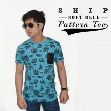 Ship Pattern T-Shirt