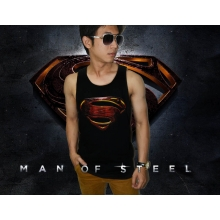 Tank Top Superman Man of Steel - SUPERHERO T-SHIRT