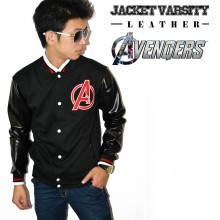 Jacket Varsity Leather The Avengers