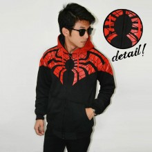 Jacket Webs Spiderman Black