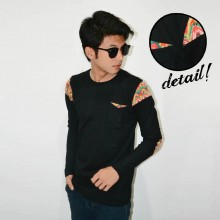 Long Sleeve Arm Patch Tribal Black [BRANDED]