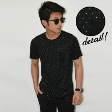 Simple Black Polkadot Pattern Tee