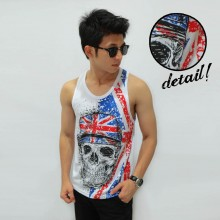 Mens Tank Top Soul American Soldier - Fitness Clothing