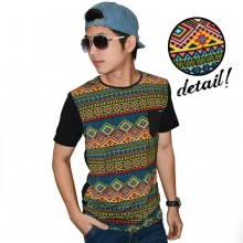 Casual Tribal Colorful Tee