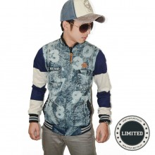 Korean Varsity Denim Blaster Number *Limited Edition