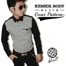 Kemeja Body Gear Pattern