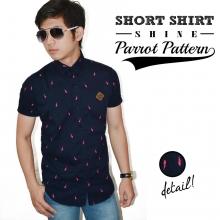 Kemeja Short Shine Parrot