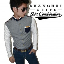 Shanghai Shirt Combination White *Limited Edition