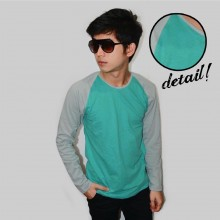 Raglan Tee Long Sleeve Tosca Soft Grey
