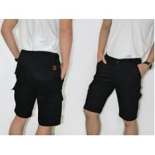 Celana Pendek Cargo Black  [BRANDED]