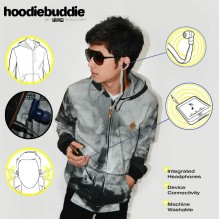 Hoodiebuddie Cloudy with Earphone
