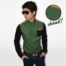 Kemeja Body The Green Polkadot