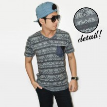 Line Dark Tribal Tee