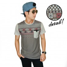Polkadot Tribal Tee