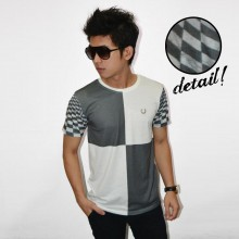 Square Tile Pattern Tee