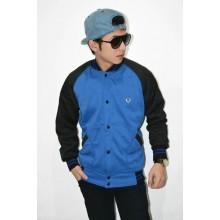 Jacket Varsity Baseball Blue Black