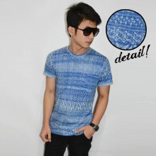 The Blue Abstrack Tee