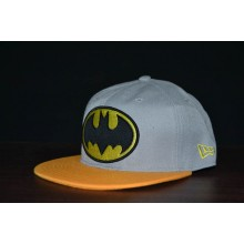 Topi Snapback Batman Grey