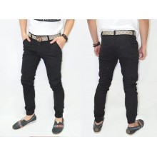 Joggers Pants Chino Black