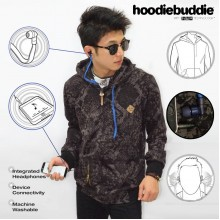 Hoodiebuddie Dark Marble with Earphone