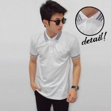 Polo Basic White