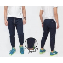 Sweatpants Terry Plain Navy