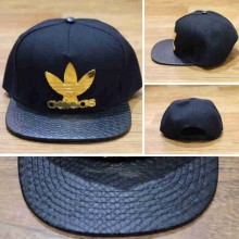 Topi Snapback Adidas Gold Pin Combine Leather Snake