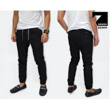 Jogger Pants Chino Basic Kakkoii Black