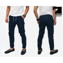 Jogger Pants Chino Basic Kakkoii Navy