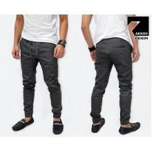Jogger Pants Chino Basic Kakkoii Dark Grey