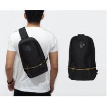 Shoulder Bag BOSS Zipper Black