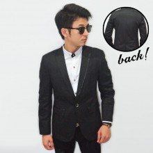 Mens Blazer One Side Shinny List