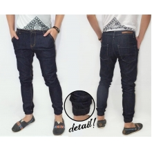 Jogger Pants Denim Dark Indigo