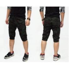 Joggers Capri Pants Dark Green Army