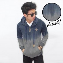 Jacket Dye Washed Navy Grey