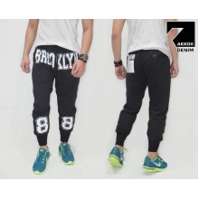 Sweatpants Brooklyn 88 Kakkoii Black