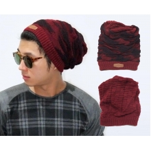 Korean Kupluk 2 In 1 Camouflage Maroon